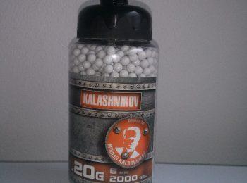 Bile Kalashnikov 0.20 g 2000 buc CyberGun magazin Squad Store