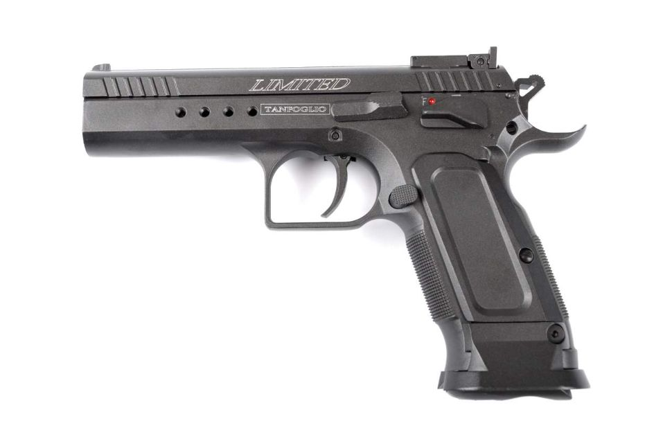 Replica Tanfoglio Limited Custom full metal CyberGun magazin Squad Store