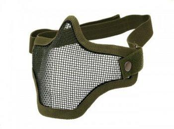 Masca din plasa metal olive 8Fields magazin Squad Store