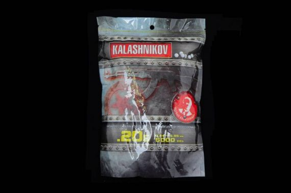 Bile Kalashnikov 0.20 g 5000 buc CyberGun magazin Squad Store