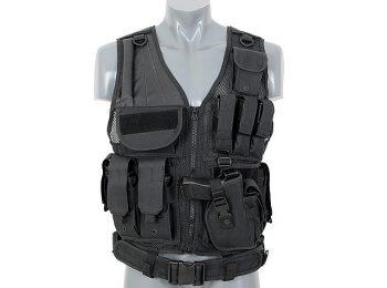 Vesta tactica neagra 8Fields magazin Squad Store