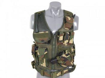 Vesta tactica woodland 8Fields magazin Squad Store