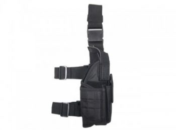 Toc pistol pentru picior negru - 8Fields magazin Squad Store