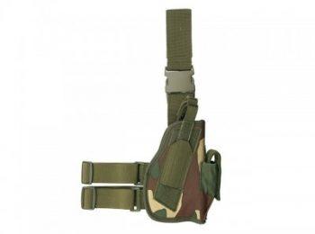 Toc pistol pentru picior woodland - 8Fields magazin Squad Store
