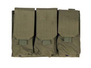 Portincarcator triplu pentru M4/AK47 olive - 8Fields magazin Squad Store