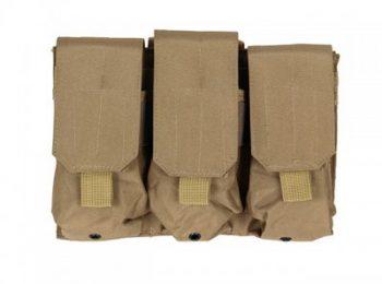 Portincarcator triplu pentru M4/AK47 coyote - 8Fields magazin Squad Store