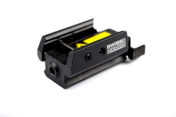 Punctator laser micro pentru RIS - Swiss Arms magazin Squad Store