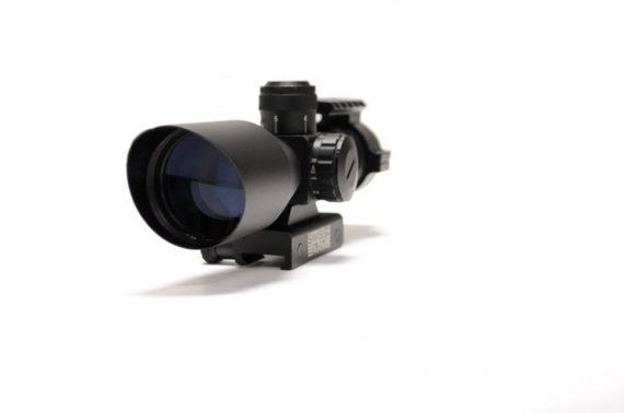 Luneta 3-9x40 Compact cu reticul iluminat - Swiss Arms magazin Squad Store
