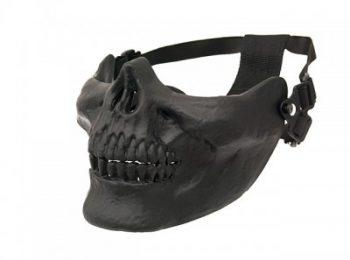 Masca Skull half face neagra ACM magazin Squad Store