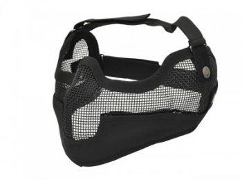 Masca protectie din plasa metalica neagra 8Fields magazin Squad Store