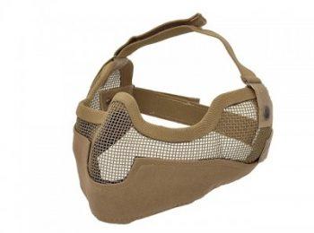 Masca protectie din plasa metalica coyote 8Fields magazin Squad Store