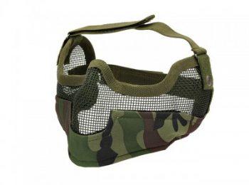 Masca protectie din plasa metalica woodland 8Fields