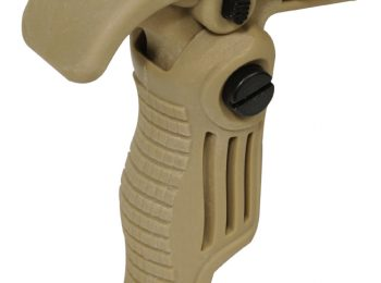 Maner vertical mini pliabil Coyote - Swiss Arms magazin Squad Store