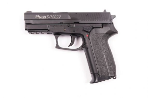 Replica Sig Sauer SP2022 slide metal CyberGun magazin Squad Store
