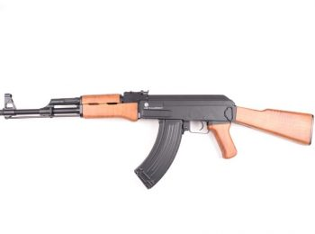 Replica AK47 cu corp metalic CyberGun magazin Squad Store