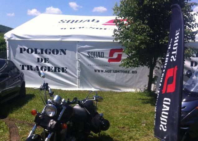Poligon tir aer liber la Cluj Bike Fest 2015