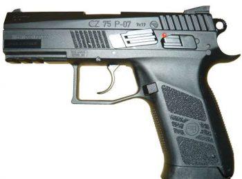Replica pistol CZ 75 P-07 Duty CO2 ASG magazin Squad Store