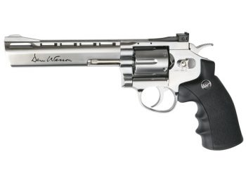 Revolver ASG Dan Wesson 6 inch stainless magazin Squad Store