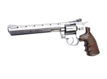 Revolver ASG Dan Wesson 8 inch stainless magazin Squad Store