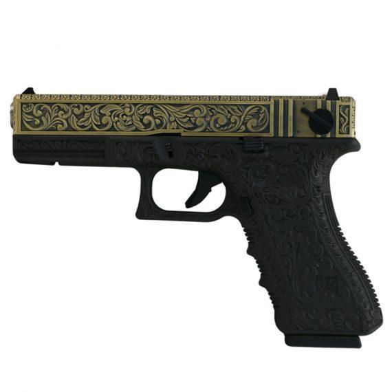 Replica pistol G18C ivory STTi-WE magazin Squad Store
