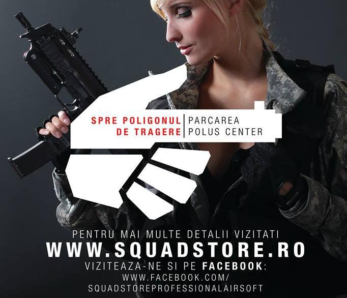 Labirint tir airsoft Squad Store la Polus