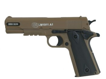 Replica Colt 1911 HPA slide metal TAN CyberGun magazin Squad Store