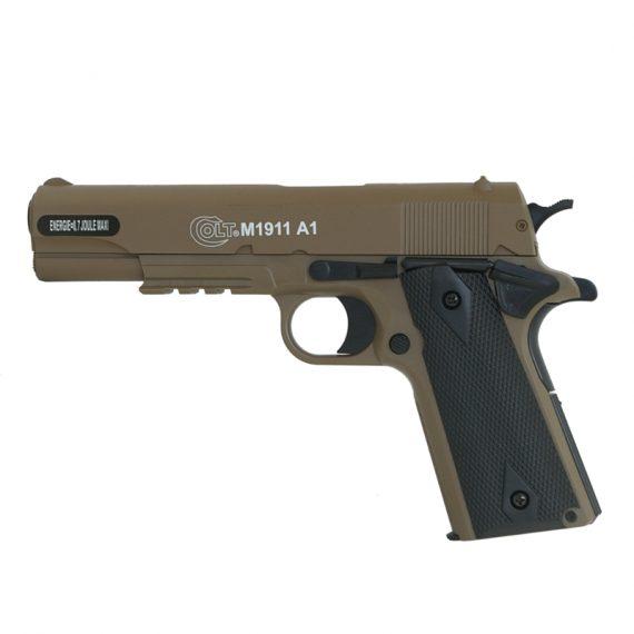 Replica Colt 1911 HPA slide metal TAN CyberGun magazin Squad Store