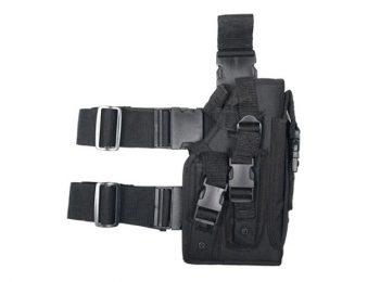 Toc pistol mare pentru picior black - 8Fields magazin Squad Store