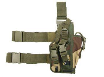 Toc pistol mare pentru picior woodland - 8Fields magazin Squad Store
