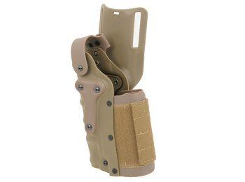 Toc pistol curea ambidextru tan - ACM magazin Squad Store
