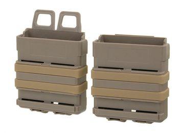 Portincarcator rapid din polimer pentru SR25 dark earth FMA magazin Squad Store