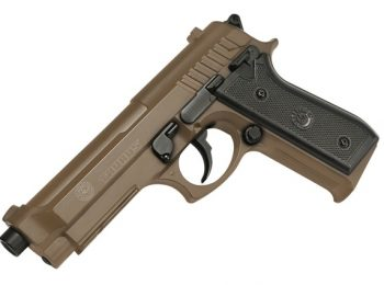 Replica Taurus PT92 tan slide metal CyberGun magazin Squad Store