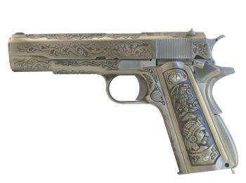 Replica Colt 1911 Green Gas full metal WE magazin Squad Store