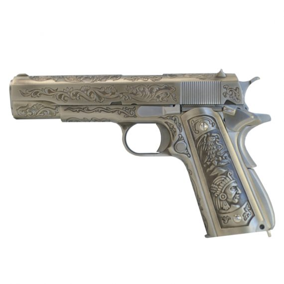 Replica Colt 1911 Green Gas full metal WE magazin Squad Store
