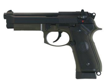 Replica M9A1 Vertec full metal verde KJW magazin Squad Store