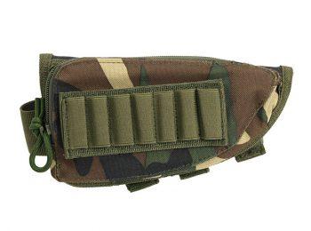 Port utilitar 7 cartuse pentru pat arma - woodland magazin Squad Store