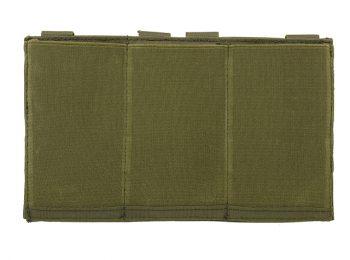 Portincarcator triplu elastic olive - 8Fields magazin Squad Store