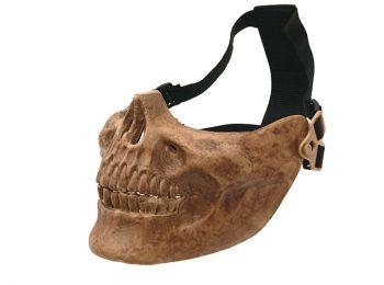 Masca Skull half face maro ACM magazin Squad Store