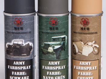 Spray vopsea negru mat Army magazin Squad Store