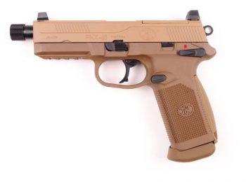 Replica FN FNX-45 tactic dark earth slide metal CyberGun magazin Squad Store