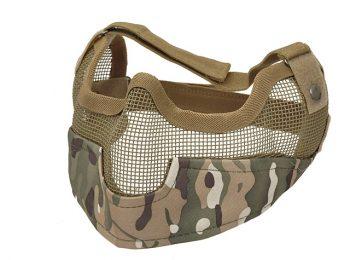 Masca protectie din plasa metalica multicam 8Fields magazin Squad Store