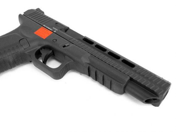 Replica pistol ACP606 Spyder blow-back CO2 APS magazin Squad Store