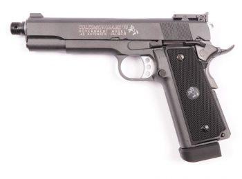 Replica Colt MK IV anii '70 full metal CyberGun magazin Squad Store