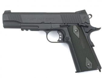 Replica Colt M1911 full metal negru mat CyberGun magazin Squad Store
