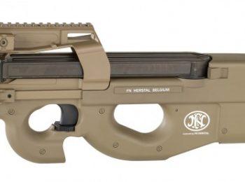 Replica FN P90 tan electrica cybergun magazin Squad Store
