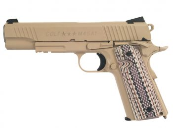 Replica Colt M45A1 full metal tan CyberGun magazin Squad Store