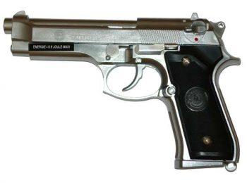 Replica Taurus PT92 Silver CyberGun magazin Squad Store