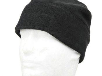 Caciula polar cu velcro neagra magazin Squad Store