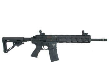 Replica PAR MK3 MTR negru cu blow-back ICS magazin Squad Store
