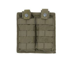 Portincarcator dublu cu acces rapid olive - 8Fields magazin Squad Store
